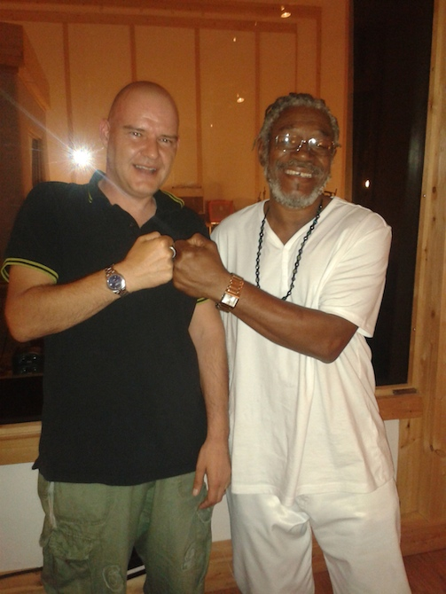 NIck Sasquash meet's the legendary Horace Andy!