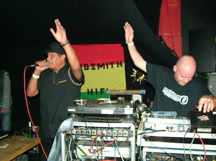 Operation Sound System live & direct Daddy Teacha & Sasquash / Plymouth 2013