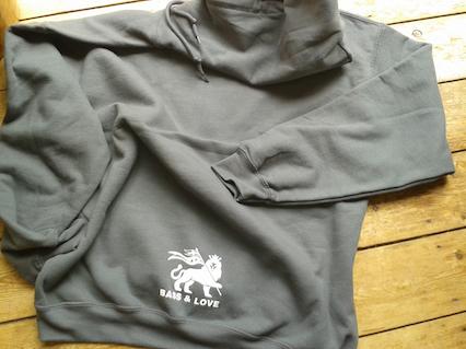 OSS heavyweight hoodie back print