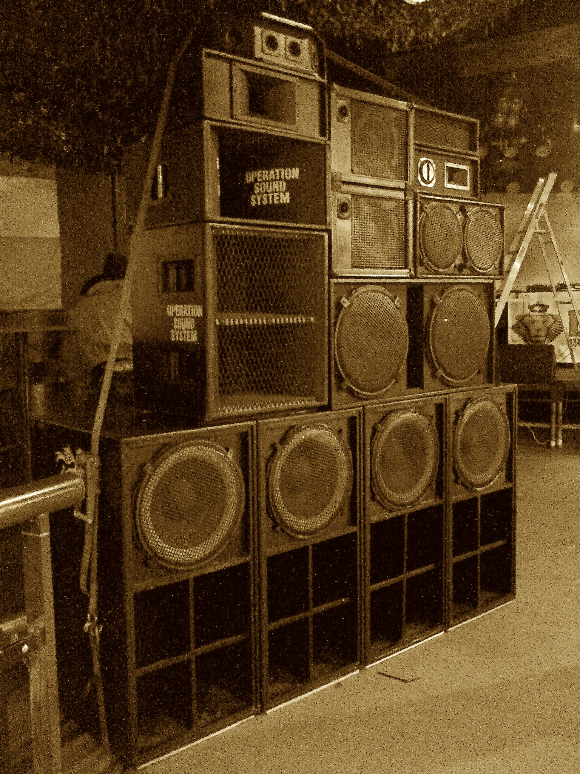 1 of 2 Operation Sound System Stack's @ Dubnium Bournemouth