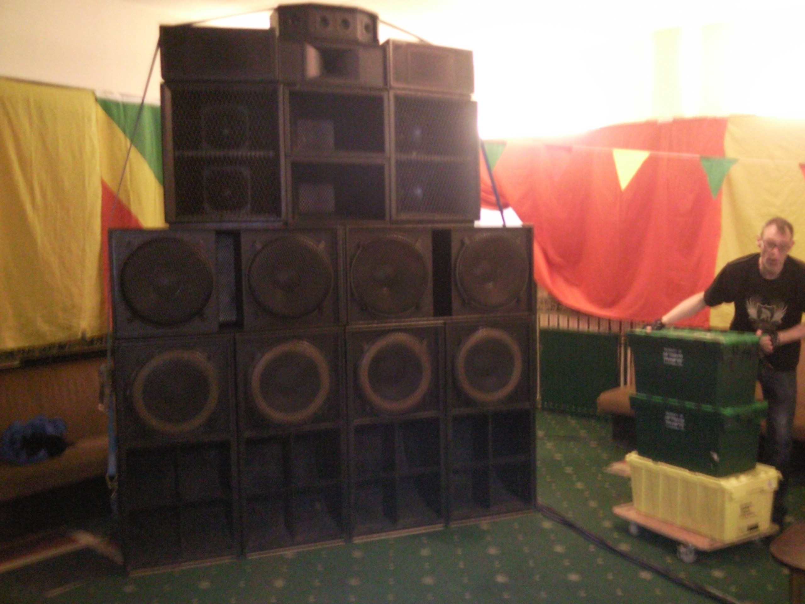 Operation Sound System Stack @ Ireie Vibes
