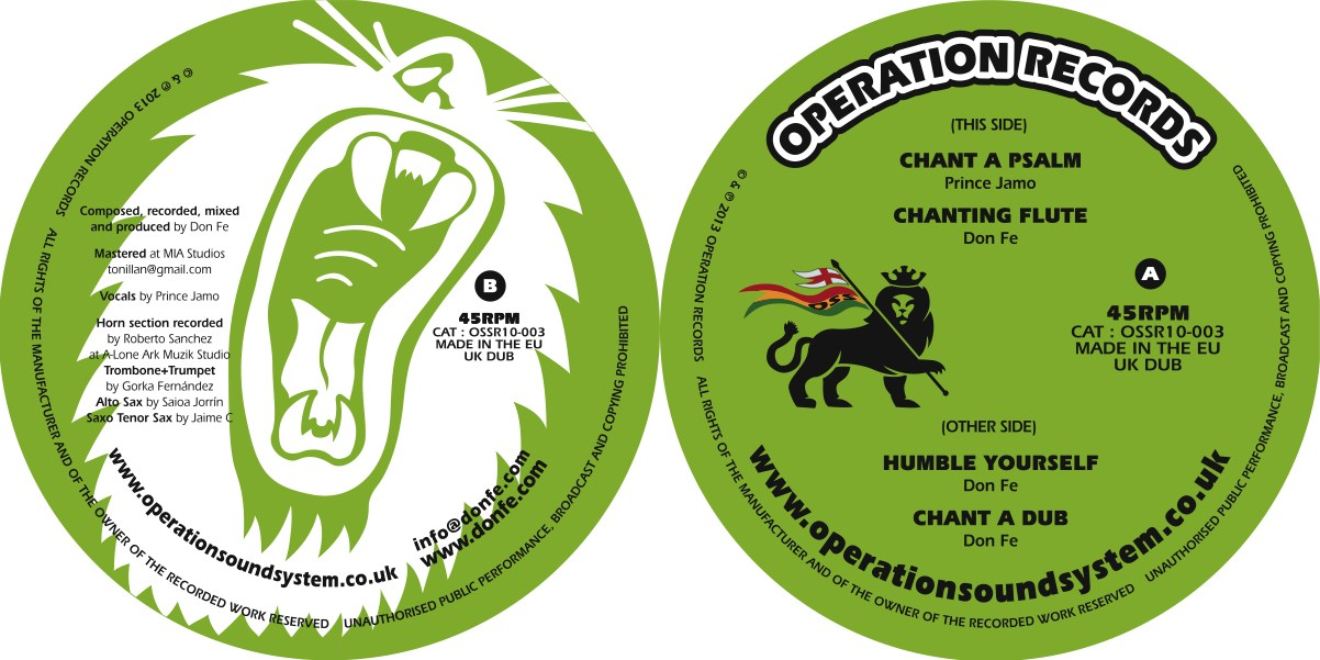 OSSR10-003 Label Artwork