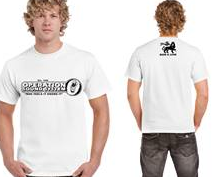oss t shirt white